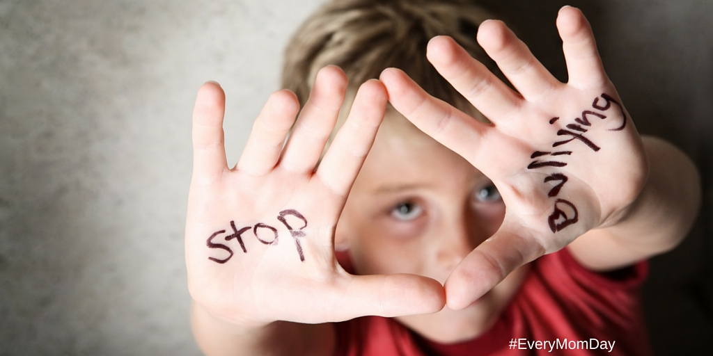 Bullying has no place in our schools - or in the Presidential Elections! EveryMomDay.com