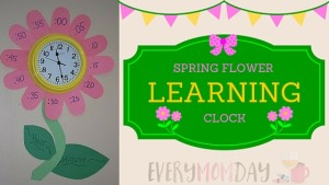 Spring Learning Clock