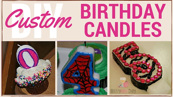 Custom Birthday Candles
