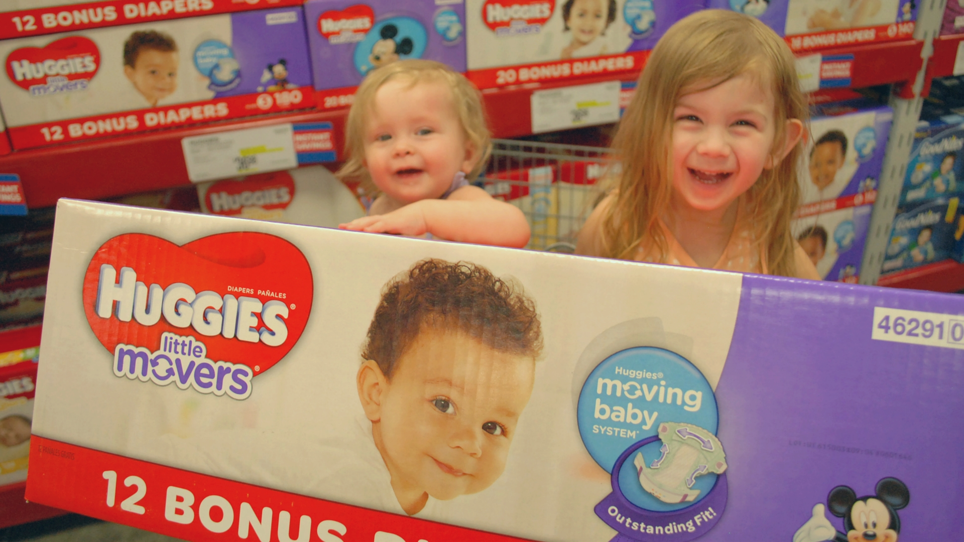 They know what they want! Huggies Little Movers (click for savings and contests to WIN)