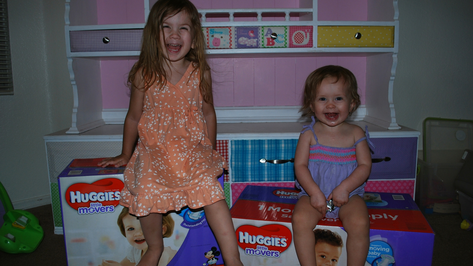 Excited to get their new Mickey & Minney Diapers home! Huggies Littlle Movers FTW! - EveryMomDay.com