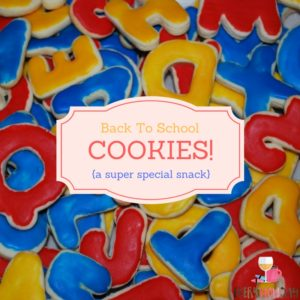 Make a fun and special snack to celebrate the new school year! EveryMomDay.com