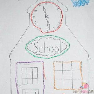 """Save at least one """"assignment"""" from the first day/week of school to compare with the work at the end of the year! EveryMomDay.com"""