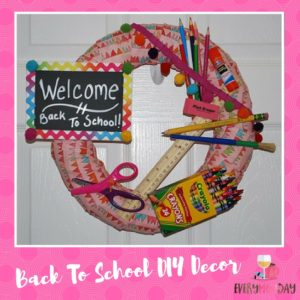 Back To School Wreath