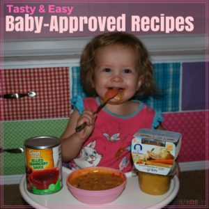 Baby Food Recipes Made Easy with Gerber Lil'Bits