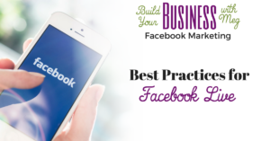 FREE Download: Facebook Live Best Practices