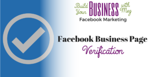 Verify Your Facebook Business Page