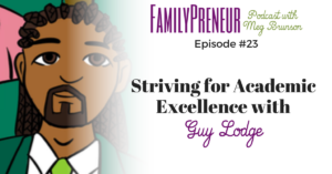 Striving for Academic Excellence with Guy Lodge – 023