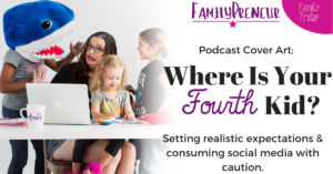 Podcast Cover Art: Where Is The Fourth kid?