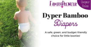 Product Review: Dyper Bamboo Diapers
